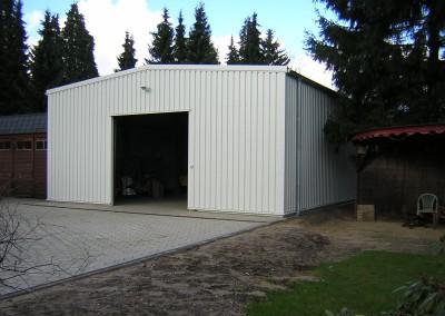 Stahlhalle für Industrie und Gewerbe