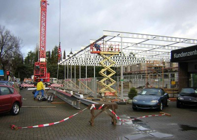 Stahlbau-Geschossbau