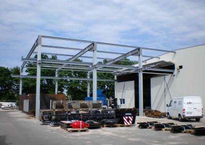 Stahlhalle für Industrie und Lagergebäude