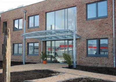 Stahlbau Vordach